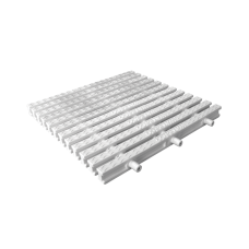 UV Stabalised Pool Deck Grating (250mm, White)