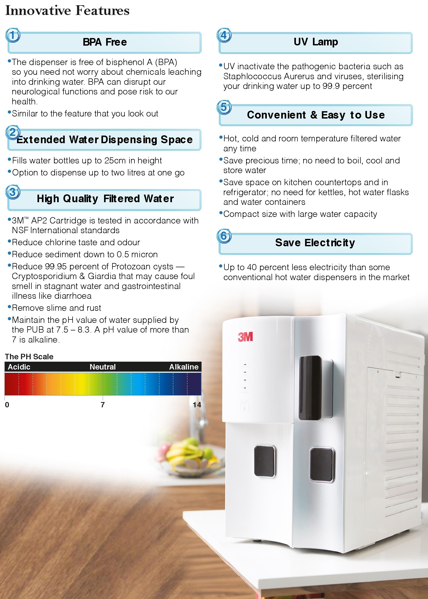 3M-water-dispenser-HDC-2-innovative-features